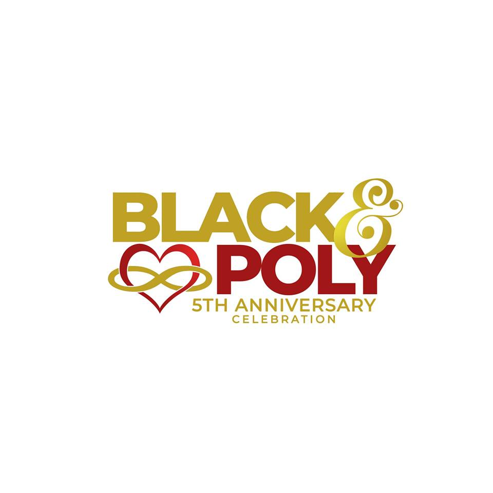 Celebrate Black & Poly